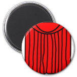 Theater buddy icon stage curtains closed  fridge_magents_magnet