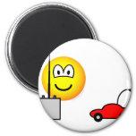 Afstandsbestuurbare auto emoticon   fridge_magents_magnet