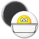 Bathing emoticon   fridge_magents_magnet