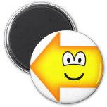 Left emoticon arrow  fridge_magents_magnet