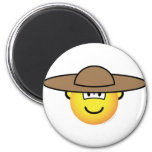 Mexican emoticon   fridge_magents_magnet