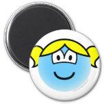 Bubbles emoticon   fridge_magents_magnet