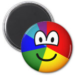 Pie chart emoticon   fridge_magents_magnet