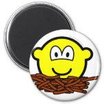 Birds nest buddy icon   fridge_magents_magnet