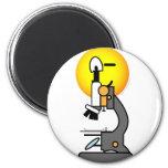 Microscope emoticon   fridge_magents_magnet