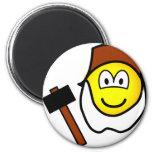 Grompel emoticon Zeven dwergen  fridge_magents_magnet