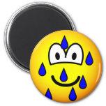 Stressed emoticon   fridge_magents_magnet
