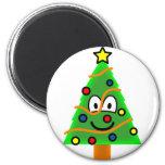 Christmas tree emoticon   fridge_magents_magnet
