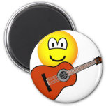 Acoustic guitar emoticon   fridge_magents_magnet
