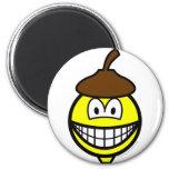 Acorn smile   fridge_magents_magnet