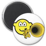 Trumpet buddy icon   fridge_magents_magnet