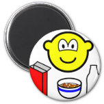 Breakfast buddy icon cereal  fridge_magents_magnet