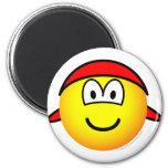 Bandana emoticon   fridge_magents_magnet