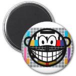 Test pattern smile   fridge_magents_magnet