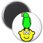 Parrothead buddy icon   fridge_magents_magnet