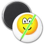 Light saber emoticon   fridge_magents_magnet