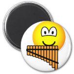 Panflute emoticon   fridge_magents_magnet