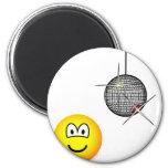 Disco emoticon   fridge_magents_magnet