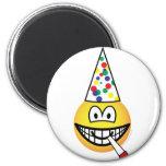 Party emoticon   fridge_magents_magnet