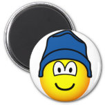 Beanie emoticon   fridge_magents_magnet