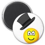 Tip-of-the-hat emoticon   fridge_magents_magnet
