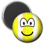 Stripey emoticon   fridge_magents_magnet