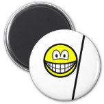 Bo smile martial arts  fridge_magents_magnet