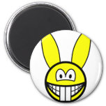 Rabbit smile   fridge_magents_magnet