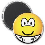 Diaper emoticon   fridge_magents_magnet