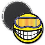 Skier smile (it's colder)  fridge_magents_magnet