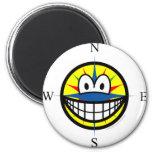 Compass smile   fridge_magents_magnet
