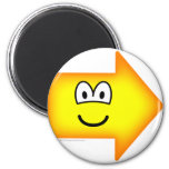 Right emoticon arrow  fridge_magents_magnet