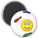 Juggling emoticon   fridge_magents_magnet