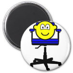 Office chair buddy icon   fridge_magents_magnet