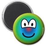 Psychedelic emoticon   fridge_magents_magnet