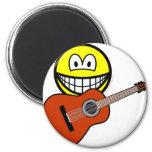 Acoustic guitar smile   fridge_magents_magnet