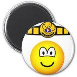 Boxing champion emoticon   fridge_magents_magnet