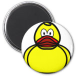 Rubber duck smile   fridge_magents_magnet