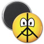 Peace emoticon   fridge_magents_magnet