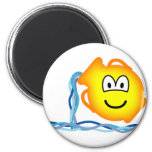 Aquarius emoticon Zodiac sign  fridge_magents_magnet