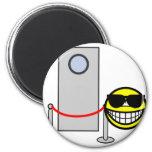 Bouncer smile   fridge_magents_magnet