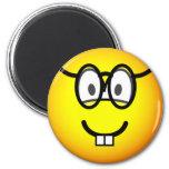 Nerd emoticon   fridge_magents_magnet