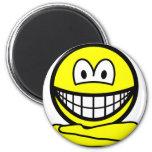 Yoga smile   fridge_magents_magnet