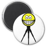 Tripod mounted smile   fridge_magents_magnet