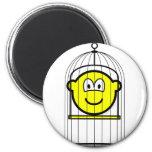 Caged buddy icon   fridge_magents_magnet