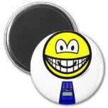 Texting smile   fridge_magents_magnet