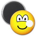 Hole emoticon   fridge_magents_magnet