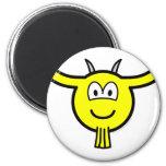 Goat buddy icon   fridge_magents_magnet