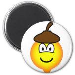 Acorn emoticon   fridge_magents_magnet