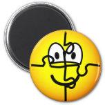 Jigsaw puzzle emoticon   fridge_magents_magnet
